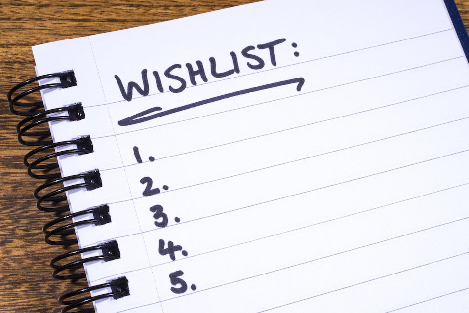 Start Up Stirling Wish List